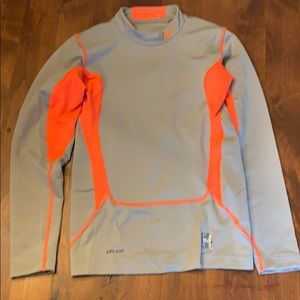 Boy's YL Nike long sleeve compression shirt